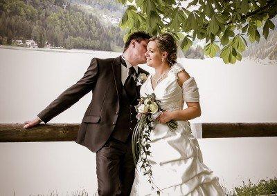 Momenti romantici dopo le nozze