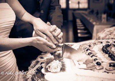 Taglio della torta nuziale: semplici gesti carichi di significato