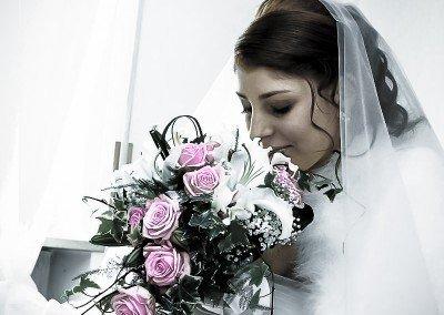 Istanti carichi di emozione prima del matrimonio