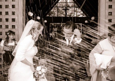 Viva gli sposi!! Attimi di felicità fra risi e sorrisi