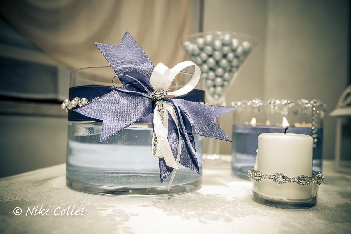 Assez Candele profumate e sfumature di blu: bomboniere e confetti JT37