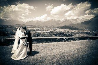 Un grande amore e un bacio panoramico…