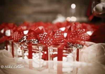 I confetti nuziali racchiusi in un ricordo che dura per sempre