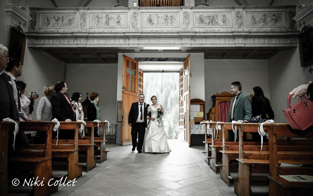 Fotografo per matrimonio nel rito religioso