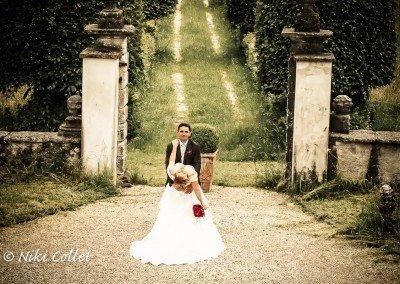 Sulla via dell'amore, attimi romantici nel giorno del matrimonio