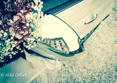 Un soffuso gioco di riflessi e di dettagli nel giorno del matrimonio