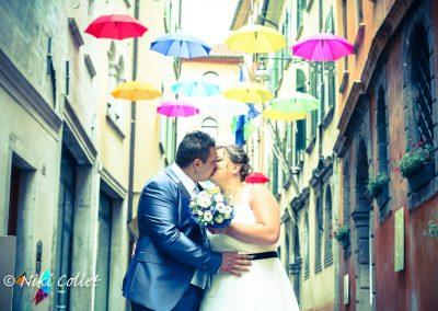 Foto di matrimonio romantica Fotografo