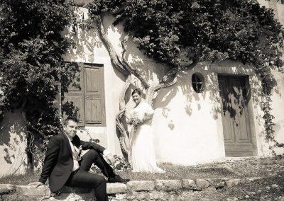 Sposo Servizi fotografici di matrimonio in bianco e nero