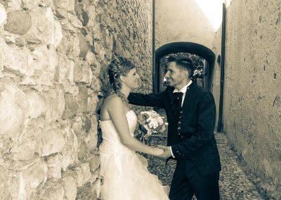 Ritratto fotografico di matrimoni sposi foto by Niki Collet