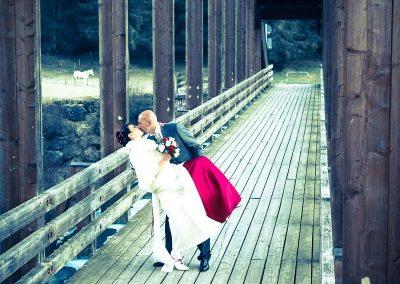 Fotografia ritratto sposi dopo la cerimonia servizio fotografico matrimoniale