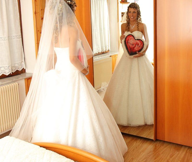 La preparazione della sposa…
