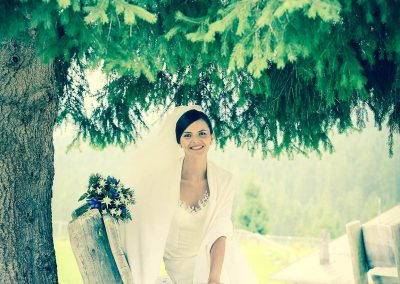 Sposa in abito bianco fotografia di matrimoni professionale