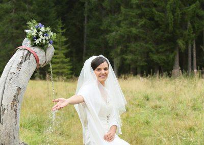 Bouquet e sposa location servizio fotografico matrimonio