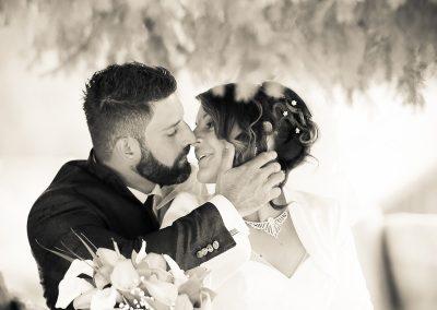 Momenti romantici sposi servizi fotografici