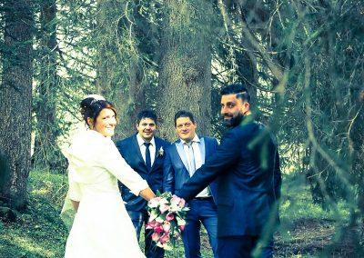 Fotografo per matrimoni location montagna