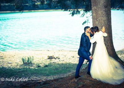 location al lago per servizi fotografici di matrimonio