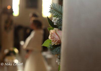 dettagli floreali cerimonia di nozze fotografo professionista