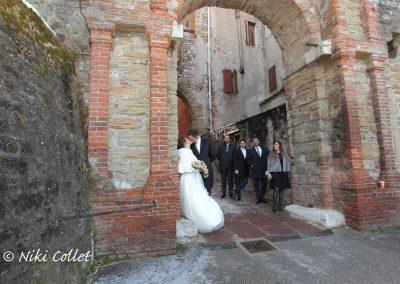 foto dopo le nozze all'aperto servizi fotografici matrimonio di Niki Collet