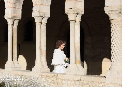 la sposa protagonista servizi fotografici matrimonio di Niki Collet