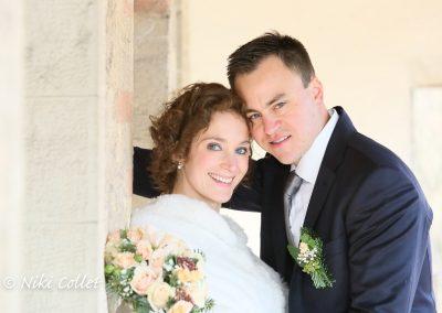 immagine degli sposi dopo la cerimonia servizi fotografici matrimonio di Niki Collet