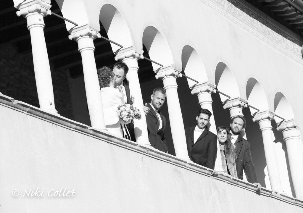 bianco e nero foto sposi e testimoni servizi fotografici matrimonio di Niki Collet