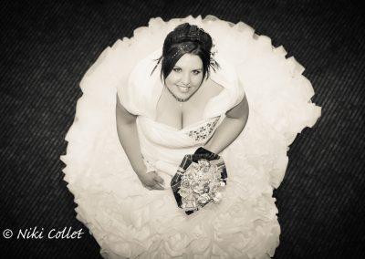 Bianco e nero servizio fotografico matrimoniale