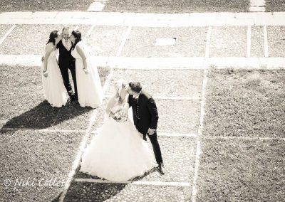 Servizio fotografico bianco e nero matrimonio Belluno