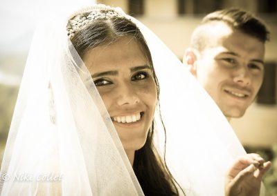 L'allegria in uno scatto fotografico di matrimonio
