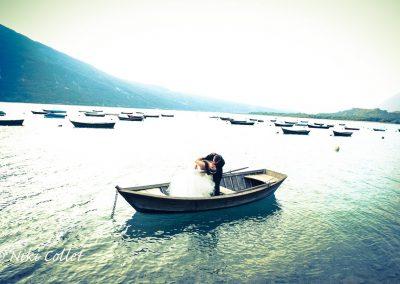 Servizi fotografici matrimoni in riva al lago