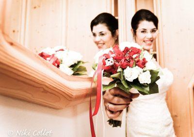 Servizi fotografici a casa della sposa
