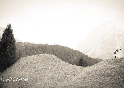 Servizi fotografici per matrimoni in montagna