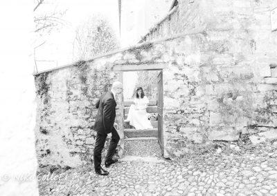 Fotografia bianco e nero servizio fotografico per matrimoni