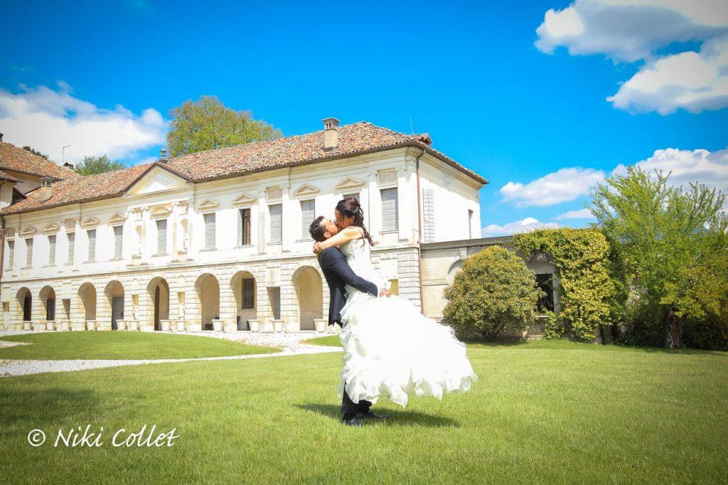 Fotografie di matrimonio giardini ville fotografo professionista