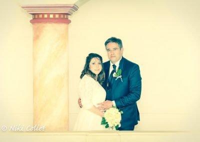 Ritratto sposi servizio fotografico di matrimonio