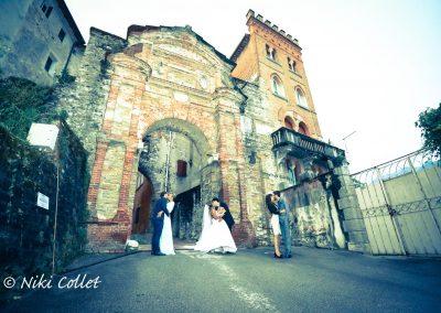 Luoghi originali cittadine storiche e medioevali per foto di nozze