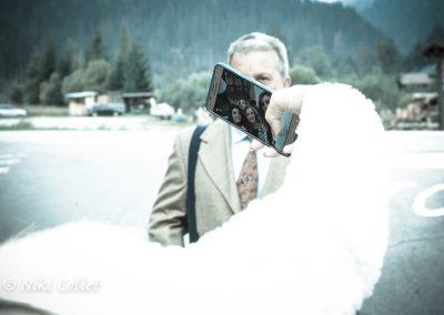 scatti creativi durante il matrimonio
