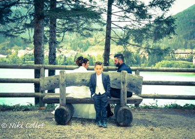 servizi fotografici di matrimonio in riva al lago